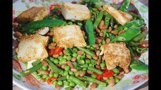 Юлия Высоцкая – Салат из фасоли с жареным тофу