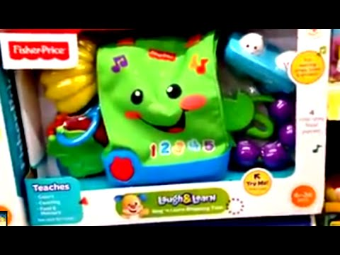 SINGING AND SHOPPING TOTE From LAUGH & LEARN By FISHER PRICE