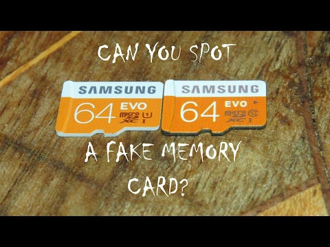 Samsung Evo, Fake Vs Original In 3 Easy Steps 💾| Fake Memory Card Ke Nukasaan?