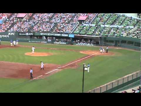 Samsung Lions vs LG Twins Baseball