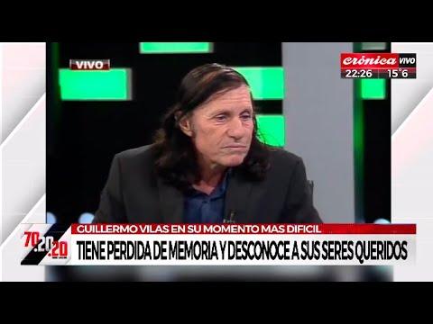 Download Guillermo Vilas tiene pérdida de memoria y no reconoce a sus seres queridos