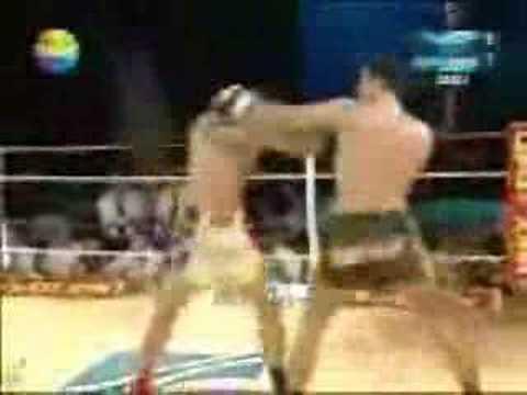 A1 Kickbox Taylan Yesil Turkiye- Johan Lidon France 20/07/07