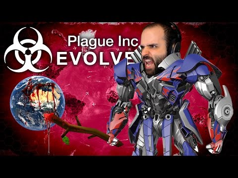 EL VIRUS ROBOT (NANO VIRUS) | PLAGUE INC EVOLVED Gameplay Español
