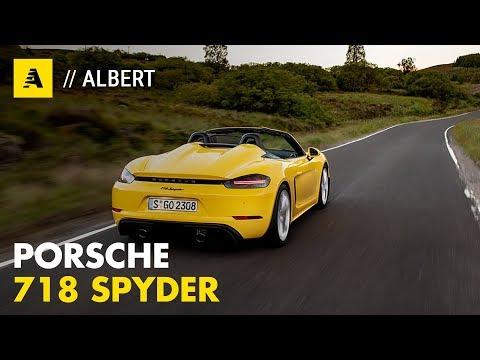 Porsche Boxster Spyder 2019 | 420 CV Senza Compromessi