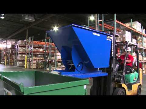 Tom's Toolbox - Vestil - Self-Dumping Hopper
