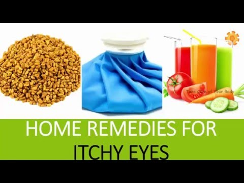 Home Remedies for Itchy Eyes | Tips for Treating Eye Allergies | Natural Remedies for itchy eyes