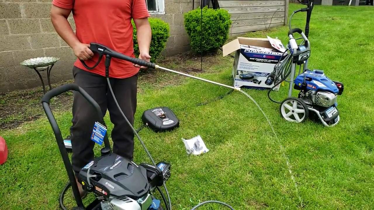Costcos yamaha powered pressure washer