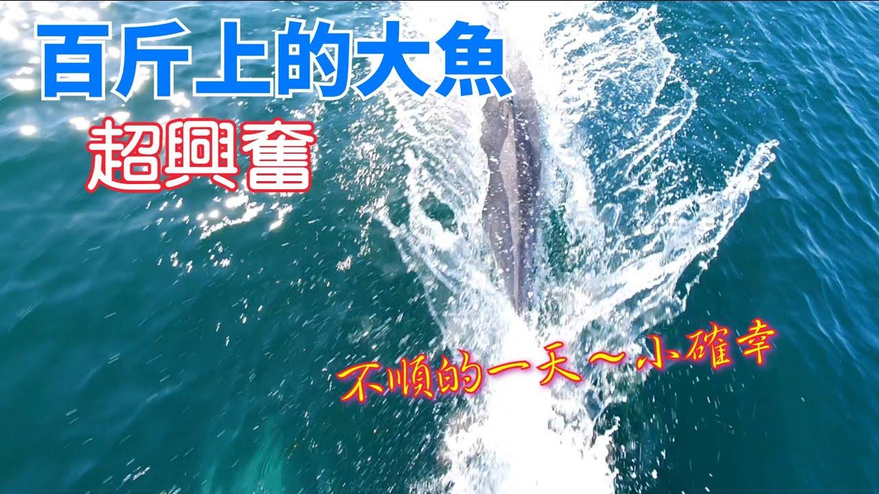 出海釣魚~慘遭大魚欺負~遇到百斤上的大魚