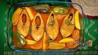 আলু বেগুন দিয়ে ইলিশের ঝোল | Bangla Alu Begun Ilish Jhol Recipe