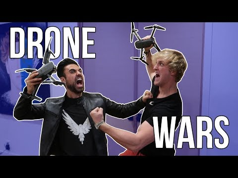 Download Youtube: DRONING WITHOUT LOGAN PAUL!!! ***HE GOT MAD***