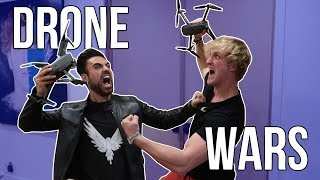 DRONING WITHOUT LOGAN PAUL!!! ***HE GOT MAD***