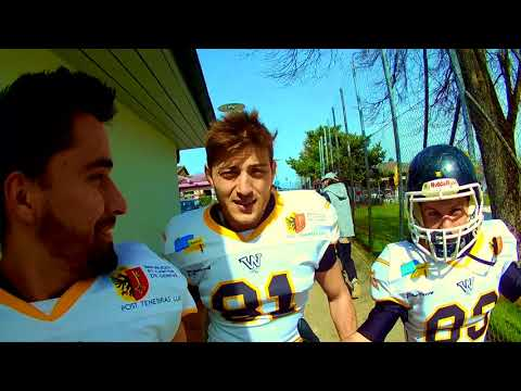 GAMEDAY #1 GENEVA WHOPPERS VS FRIBOURG CARDINALS DAILY VLOG