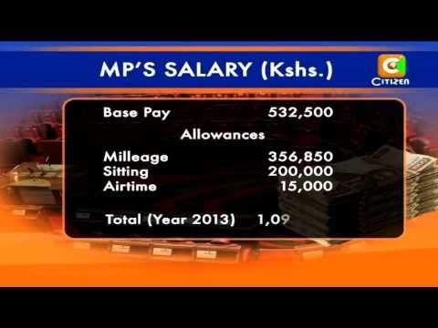 Mps Salary and Benefits Amount to Over a Million Shillings