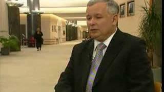 EuroNews - EN - Interview: Jaroslaw Kaczynski