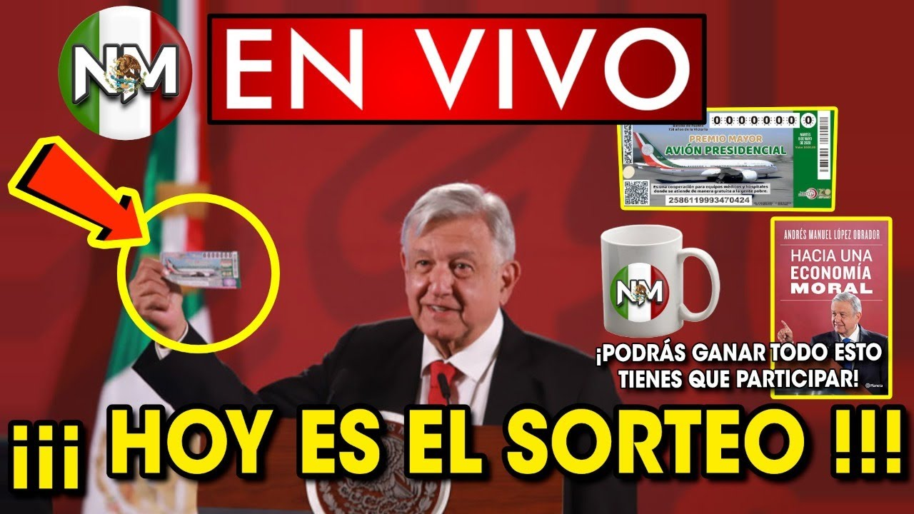 Gánate un Boleto del Avión Presidencial ¡Participa y Llevatelo! | NOTA MEX