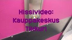 Hissivideo: Kauppakeskus Tikkuri, Tikkurila, Vantaa - 2014 KONE MonoSpace
