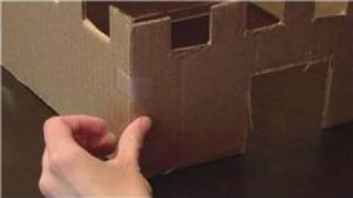 Kids Crafts : How To Build A Cardboard Box Castle