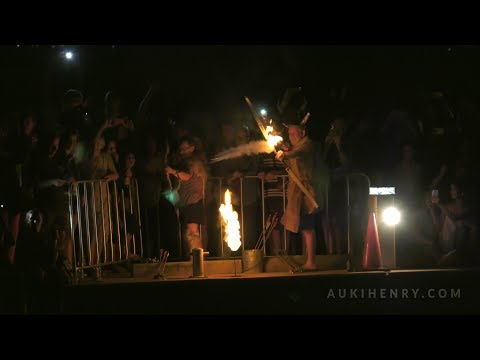 Viking Funeral Darwin 2017