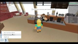 Roblox:Waterpark Gameplay ep 1 : A new Friend