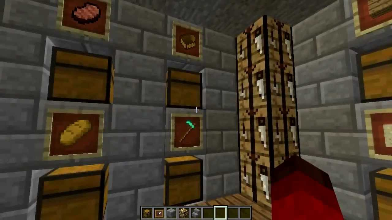 Minecraft 1 4 Cool Chest Room Showcase Amp Tutorial Youtube