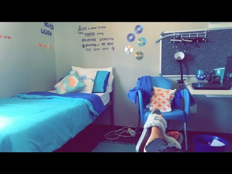 Namibian University Emona hostel dorm room Tour 🌸💥