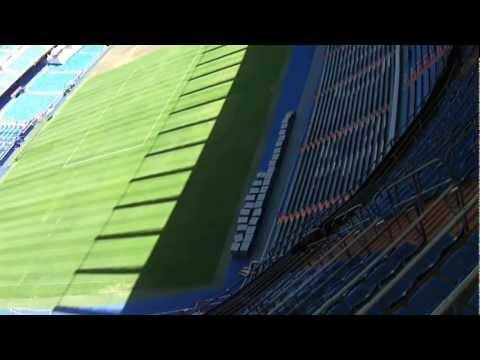 L'intérieur du stade Real Madrid