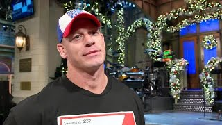 John Cena discusses the impact and expectations of hosting