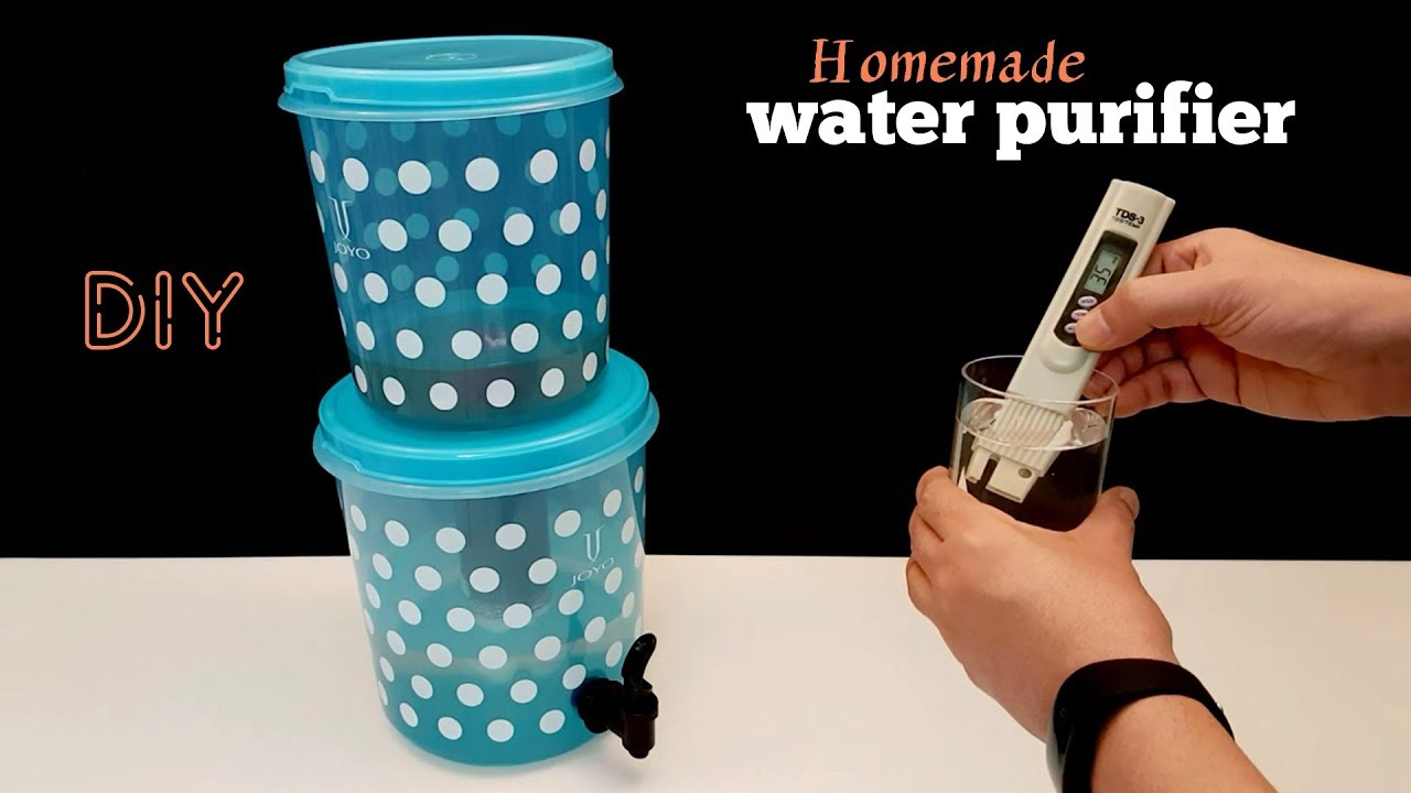 How To Make Water Purifier Homemade You