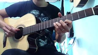 Đường Xa Ướt Mưa - Guitar cover chất nhất quả đất