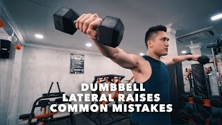 Common Mistakes When Doing Dumbbell Lateral Raises