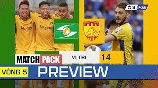 Preview Vòng 5 | Sông Lam Nghệ An đụng độ Thanh Hóa, Viettel quyết đấu DNH Nam Định