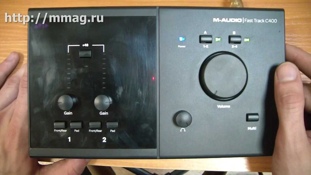 m audio fast track c400 video review youtube. Black Bedroom Furniture Sets. Home Design Ideas