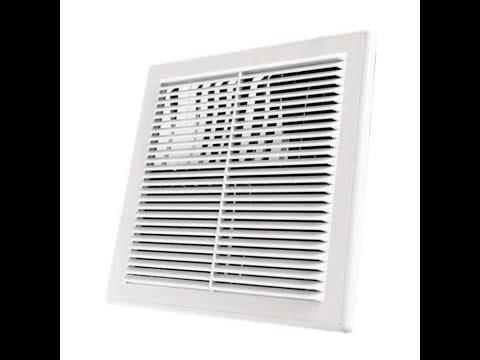 Установка вентиляционной системы на кухне - YouTube