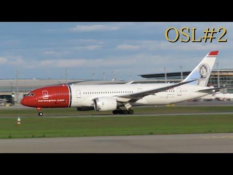 [HD] Plane Spotting @ Oslo Airport, Gardermoen: Episode-2