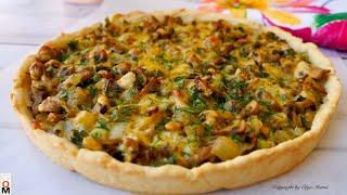 Луше Любой Пиццы |  Пирог с грибами