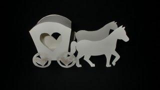 Kutsche aus Papier: Carriage Paper-ART - Tutorial [HD/deutsch] MP3