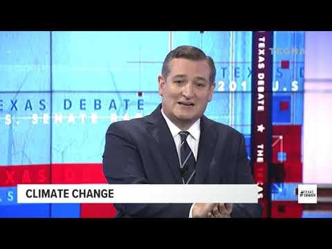 Cruz and O'Rourke clash in Texas Senate debate