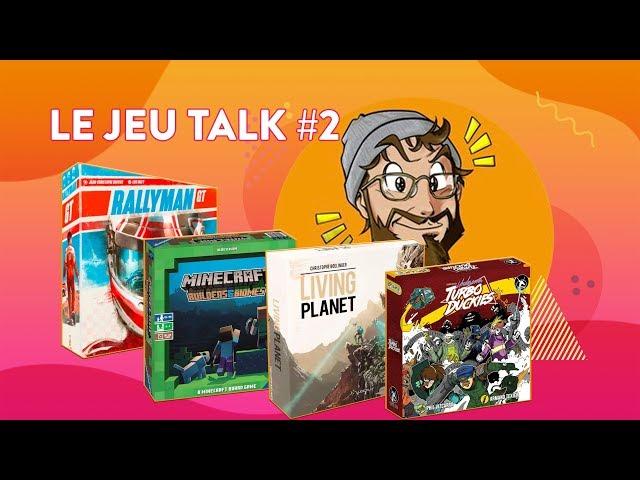 [REVIEW] JEU TALK #2 Rallyman GT, Minecraft, Living Planet & Undercover Turbo Duckies