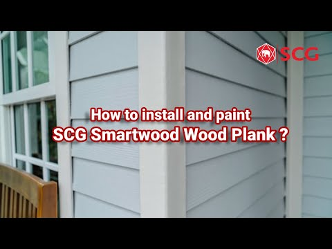 How to install and paint SCG Smartwood Wood Plank