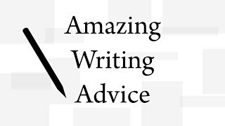 Finding your voice - AMAZING WRITING ADVICE