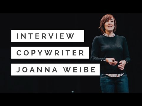 Copywriting to Ebook to Online Course: An Interview with Joanna Wiebe