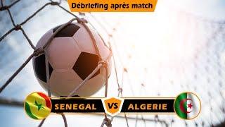 CAN 2019- Finale: Débriefing après match Sénégal vs Algérie