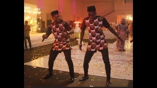 Watch  Akpororo's Crazy Dance At Comedian Ajebo's Weeding,