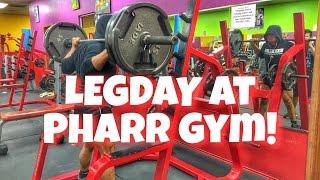 Cardio   FOOD   Slingshot   Leg Day at Pharr Gym