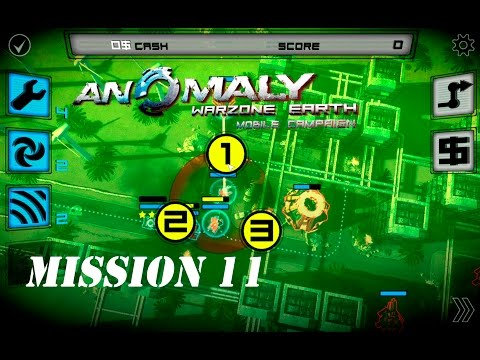 MISSION 11 - DISRUPTED SIGNAL - Anomaly Warzone Earth Mobile Campaign - Gameplay #11 |