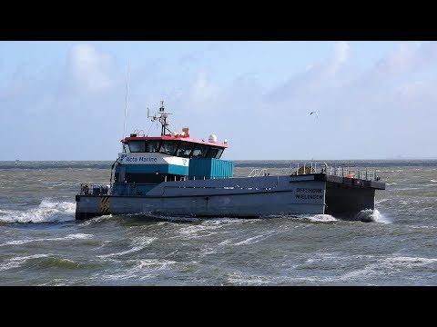 WIELINGEN offshore inkomend scheveningen 30-4-2020