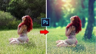 How to Blur Background and Fantasy soft light blurring effect 📷