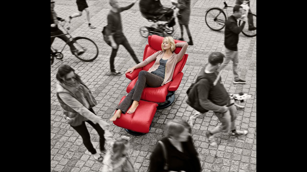 ekornes stressless comforttest bei hartmann wohnideen. Black Bedroom Furniture Sets. Home Design Ideas