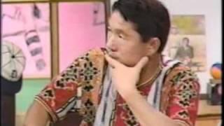 スポーツシャワーにヤクルト応援団長の岡田さんが出演したときのもので...