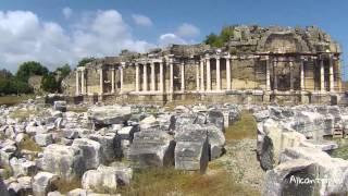 видео Достопримечательности Сиде - Турция